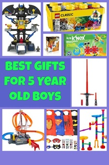best gift ideas for 5 year old boys