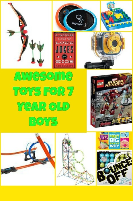 Awesome Toys for 7 Year Old Boys